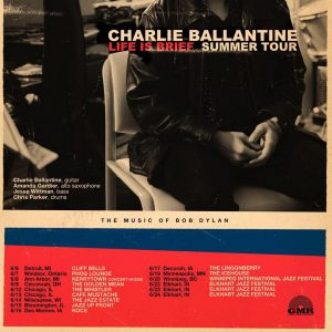 Charlie Ballantine The Music of Bob Dylan @ The Jazz Estate